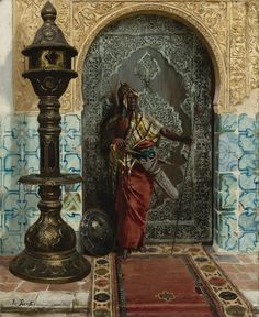 "laclefdescoeurs: ""Nubian Guard, Rudolph Ernst """