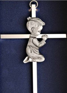 Baptism or Christening Gift Idea Wall Crosses, Christening Gifts, Thoughtful Gifts, Child, Necklaces, Fun, Baptism Presents, Baptism Gifts, Boys