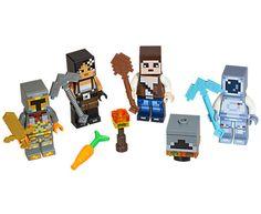 Pixelated Armor//Skeleton Skin 853609 Lego Minecraft Minifigure Skin 5