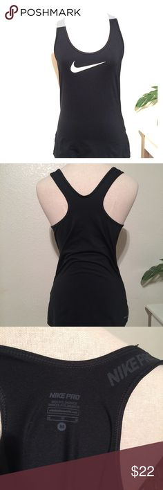 Women's Nike Pro Dri Fit Racer Back Tank Size Med New without tags. Women's size Medium. Nike Tops Tank Tops