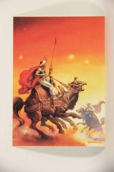 L010269 Boris Vallejo 1991 / The Siege Of Faltara 1978 - Card #72 / SHORT PRINT