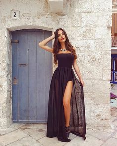 Unique Dresses, Cute Dresses, Beautiful Dresses, Casual Dresses, Formal Dresses, Girl Fashion, Fashion Outfits, Stylish Outfits, Classy Outfits