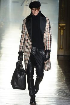 Daks Men's RTW Fall 2014...really strong and sexy look.