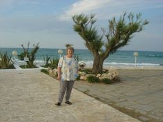 Garden of our Hotel Del Levante in Torre Canne on the Adriatic