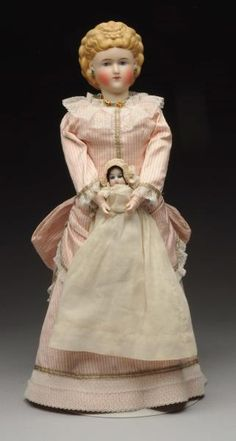 Lot # : 198 - Exquisite Parian Doll.