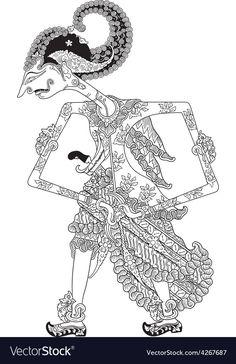 Stock Vector - Kamajaya, a character of traditional puppet show, wayang kulit from java indonesia Free Vector Images, Vector Free, Puppet Show, Shadow Puppets, Tag Art, Illustration, Indonesian Language, Stock Photos, Drawings