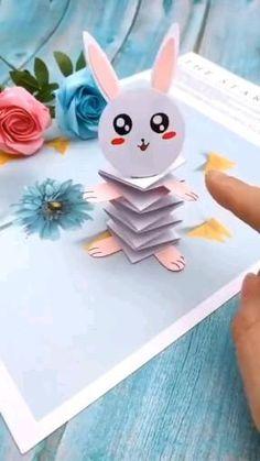 Paper Flowers Craft, Paper Crafts Origami, Paper Crafts For Kids, Preschool Crafts, Diy Crafts Hacks, Diy Crafts For Gifts, Creative Crafts, Fun Crafts, Clown Crafts