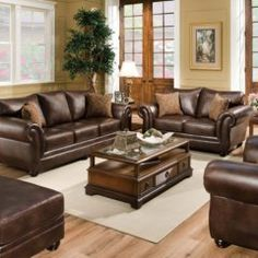 The Amazing Badcock Furniture Living Room Sets for Your home Furniture, Leather Living Room Set, Modern Living Room Set, Living Room Sets Furniture, Couches Living Room, Bedroom Furniture Sets, Chocolate Living Rooms, Living Room Leather, Living Room Designs