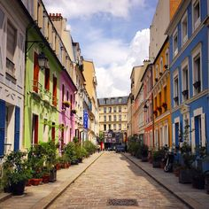 Treasures by Elisa Chisana Hoshi: Rue Cremieux: un angolo segreto di Londra a Parigi!