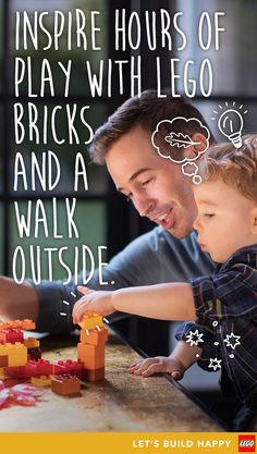 When we take a moment to look and listen, we see that nature is full of inspiration. This is especially true for children. For them the world isn't just wonderful -- it's also wonderfully new! Here are some nature-inspired LEGO building ideas to spark their creativity.