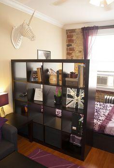 My studio divider