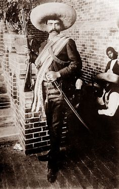 """It's better to die on your feet than to live on your knees..."" Emiliano Zapata..."