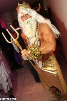A merman!!! (cough cough)... Merman!!!  (zoolander quote :)  Great costume though.