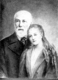 Con su padre
