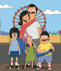 Bob's Burgers Pin- Belcher Family Photo