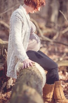 #maternity #outdoors #fall  ©clairedamphotography.com