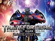 Transformers Rise Of The Dark Spark All Cutscenes Game Movie 1080p HD
