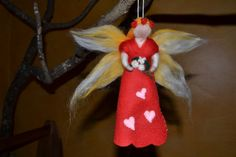 Video tutorial on crafting a magic wool fairy from Becca of cedar ring (the tutorial is part of a longer crafts book review; scroll down for it!)