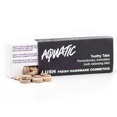 Aquatic Toothy Tab - have not tried this flavor! Only really used Sparkle.