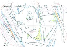 "Key-animation: ""Kekkai Sensen"" ep. # 5 Bloodfront Frontline Original # 5 story - BahiJD"