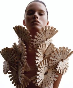 Clothespin vest. Fantastic. Sandra Backlund|Fabric Manipulation