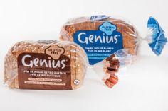 Celicosas: Genius estrena un nuevo pan de molde sin gluten Fresco, Facial Tissue, Blog, Gluten Free, Rustic Style, Gluten Free Recipes, Restaurants, Products, Wrapping