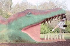dinosaur, pastel, fashion, dress, editorial, audrey kitching