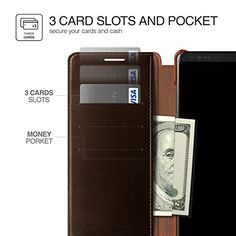 hot sale online 0db8e fb408 10 Best Note 8 Wallet Cases images in 2017   Galaxy note 8, Samsung ...