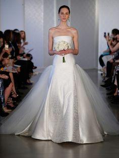 Oscar de la Renta 2017 Spring Wedding Gown Trends