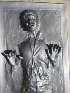 Life size 1:1 Han solo in Carbonite statue Illusives Star Wars
