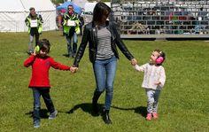 MyRoyals:  Danish Royals at Aarhus racecourse, May 24, 2015-Prince Henrik, Princess Marie and Princess Athena
