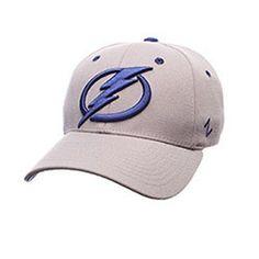 Tampa Bay Lightning Breakaway Stretch Fit Hat - Grey [M/L]