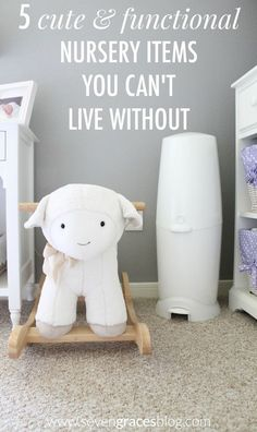 5 Cute & Functional Nursery Items You Can't Live Without. The absolute must-haves for your baby's nursery. #PlaytexEssentials #PMedia #ad