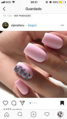Nail art. Pink