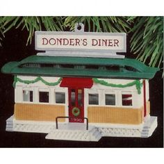 Donders Diner Hallmark Keepsake Christmas Ornament 1990 MIB    Available for sale via the pin's link.