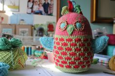 crochet little woollie: Tweety Bird Softie -Tadah!
