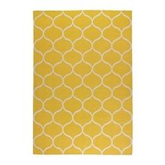 STOCKHOLM Rug, flatwoven - IKEA I'm going to paint the yellow rug on my floor with this pattern :) Ikea Design, Ikea Stockholm Rug, Medium Rugs, Ikea Shopping, Malm, Buy Rugs, Rugs Online, Rugs In Living Room, Carpet Runner