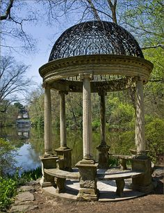 Temple of Love. Old Westbury Gardens. Long Island. NEW YORK STATE. (by Alida's Photos, via Flickr)
