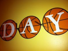 Basketball Party Banner, Sports Birthday Party Theme