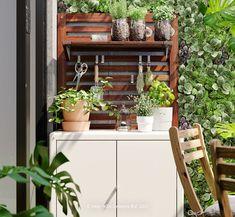 Patio Design, Garden Design, House Design, Ikea, Outdoor Living, Outdoor Decor, House Rooms, Backyard Patio, Apartment Living