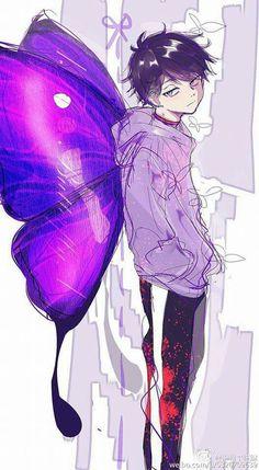 Osomatsu-san- Ichimatsu #Anime「♡」 Anime Manga, Anime Guys, Anime Art, Anime Drawing Styles, Manga Drawing, Character Art, Character Design, Otaku, Ichimatsu