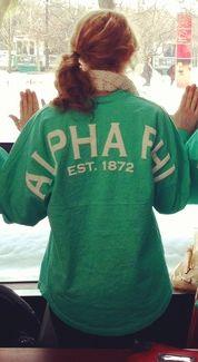 Alpha Phi spirit jersey http://www.facebook.com/spiritfootballjersey