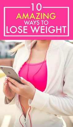 These 10 ways to lose weight are GREAT! I've started to try a few of them and I've already lost a couple of pounds! This is such an AWESOME post! So much good info! DEFINITELY pinning for later!