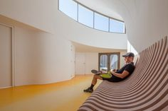 Gallery of Tennis Club in Strasbourg / Paul Le Quernec - 4 Tennis Clubs, Club Design, Workout Rooms, Skylight, Urban Design, Architecture Design, Home Appliances, Interior Design, Gallery