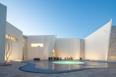 Museo Internacional del Barroco | Toyo Ito & Associates #Auditorium #Baroque #Canopy #Concrete #Mexico #Structure #ToyoIto&Associates