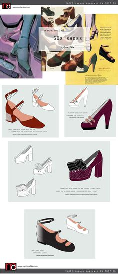 FW 2017/18 shoe trends are already at modacable.com....go PREMIUM to unlock all of the pages...