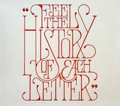 1920's-esque lettering.