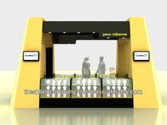Cosmetic Kiosk Gold Small Kiosk Food Kiosk/Kiosk Food/Outdoor Kiosk/Indoor Kiosk/Mobil Kiosk/Fast Food Kiosk/ $7509
