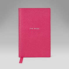 The Boss' Wafer Notebook - Books and Diaries - Smythson United States