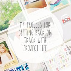 stephanie makes: Playing Project Life Catch Up (printer and paper recommendation) Project Life Storage, Project Life Organization, Photo Projects, Crafty Projects, Pedigree Chart, Project Life Scrapbook, Memory Album, Life Page, Life Journal